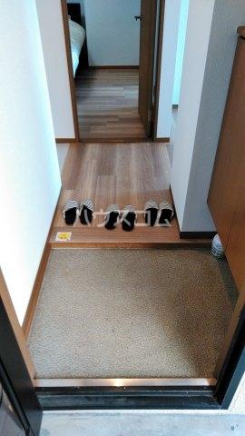 石川ハイツ 102号室の玄関