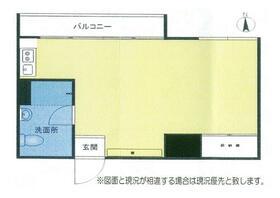 江ノ島シーサイドマンション・207号室の間取り