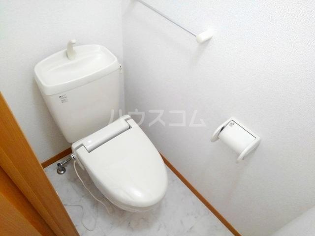 ヴィラ・ロ-ゼⅡ 01010号室のトイレ