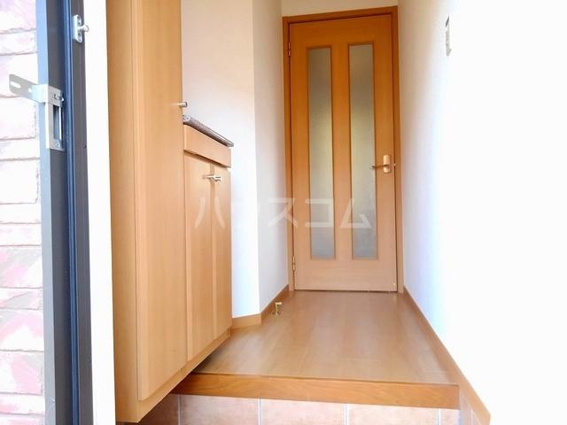 ヴィラ・ロ-ゼⅡ 01010号室の玄関