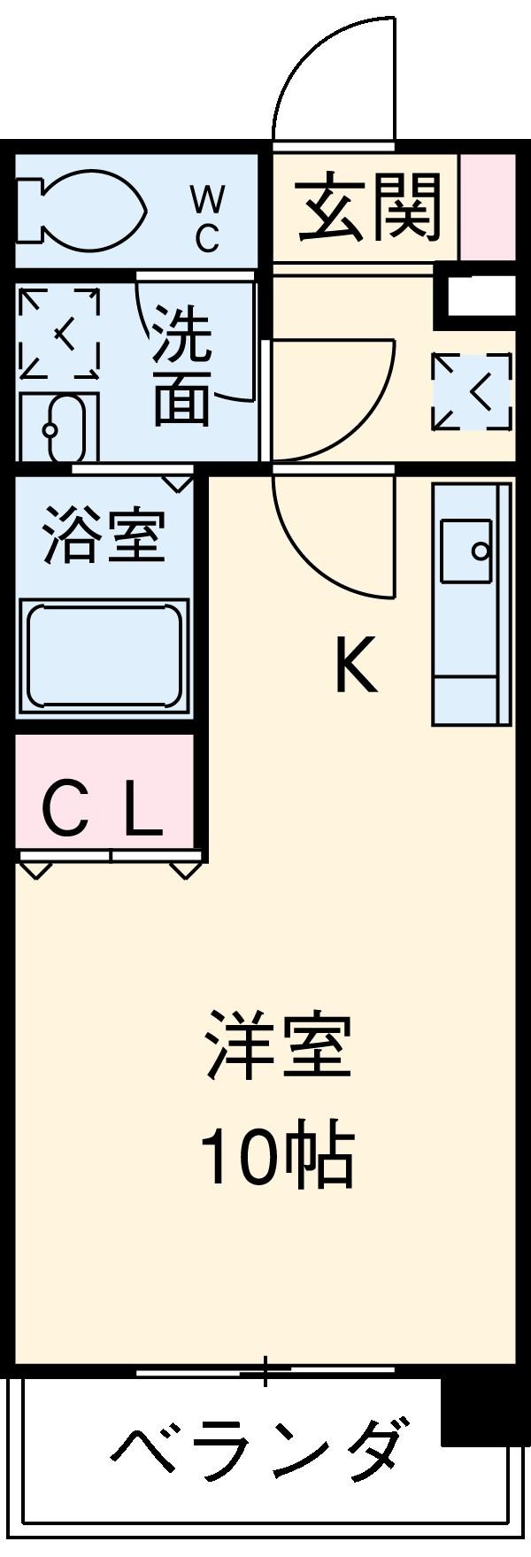 KDXレジデンス神宮前・506号室の間取り