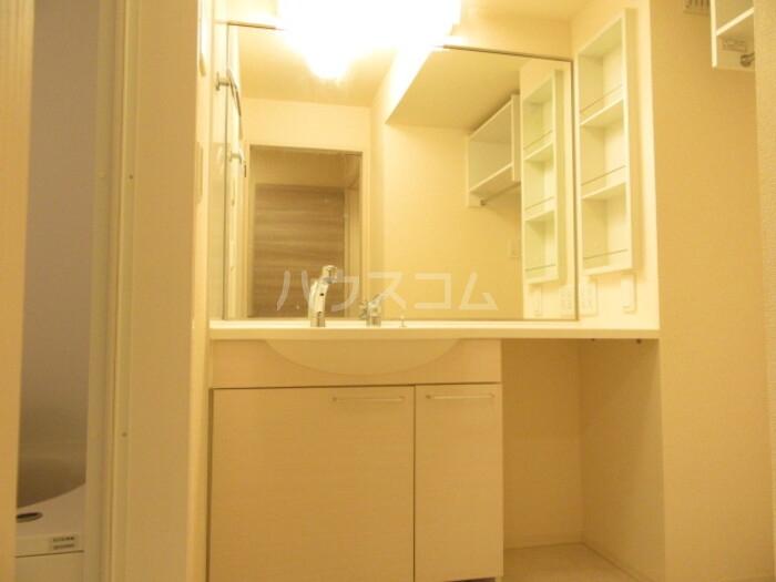 Cozy-court 203号室の洗面所