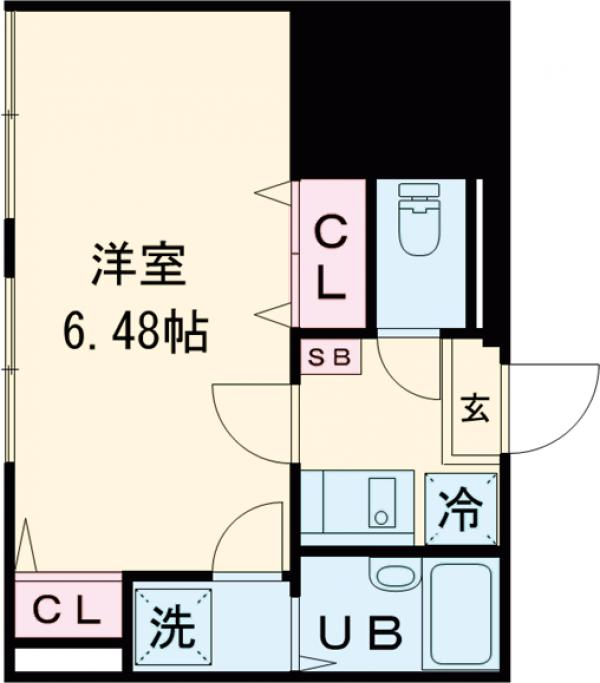 アトレ中野坂上・102号室の間取り