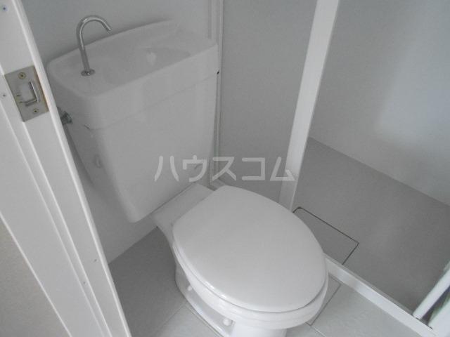 ボンボニエール府中 301号室のトイレ