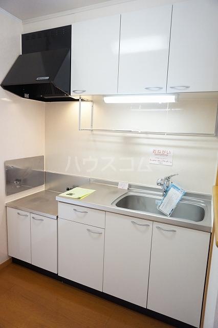 サン マーベラス B 02030号室のキッチン
