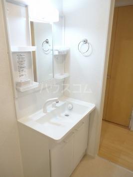 ヴァン ベール 02010号室の洗面所