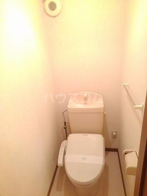 エターナル・パレスC 02010号室のトイレ
