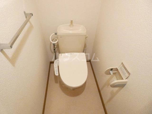 ア・ラ・モードU 02010号室のトイレ