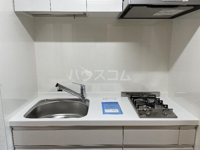 プランドール川崎大師 04040号室のキッチン