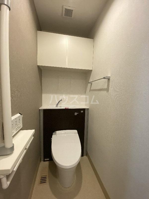 アンドーバーテラス金城 サウス 01020号室のトイレ