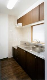 プリム新城Ⅱ 204号室のキッチン