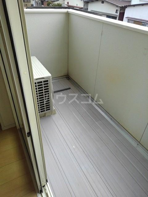ウエストヴィレッジⅠ 02020号室のバルコニー