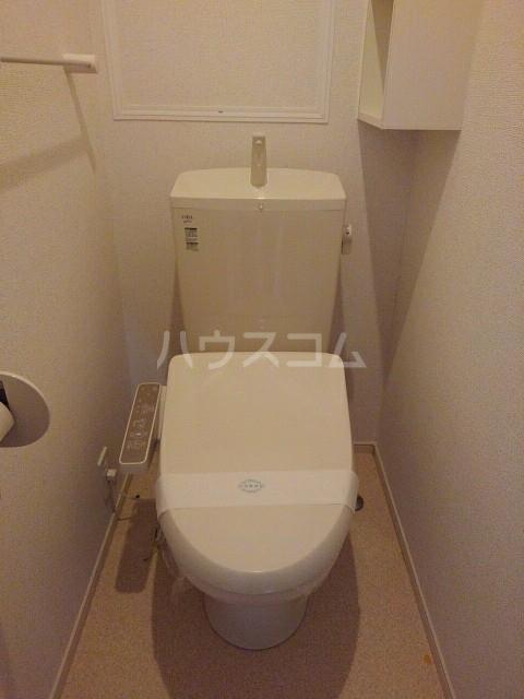 ウエストヴィレッジⅠ 02020号室のトイレ