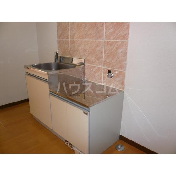 カレント 204号室のキッチン
