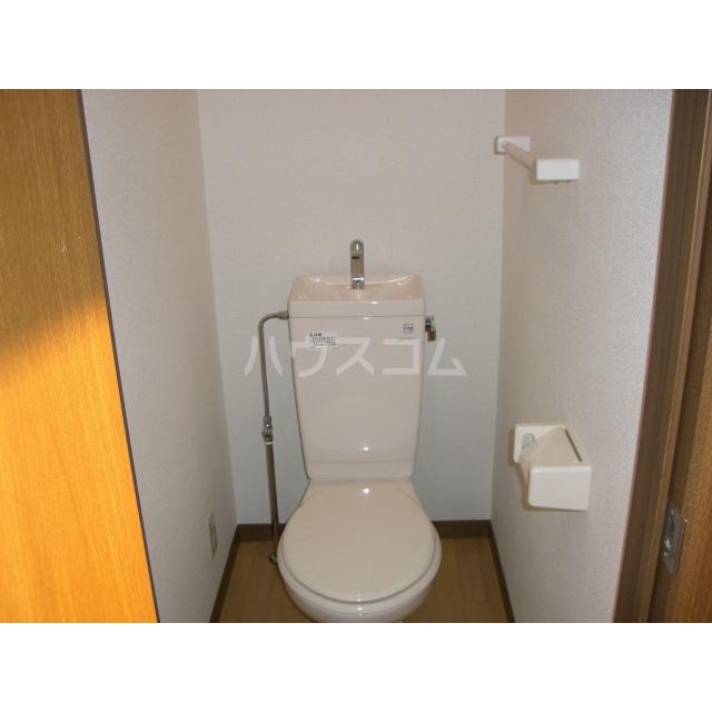 カレント 204号室のトイレ