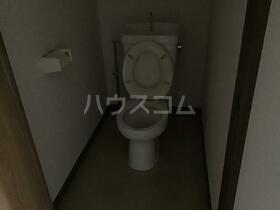 サンライズ間々 201号室のトイレ