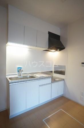 グレース・ヴィラ 壱番館 01020号室のキッチン