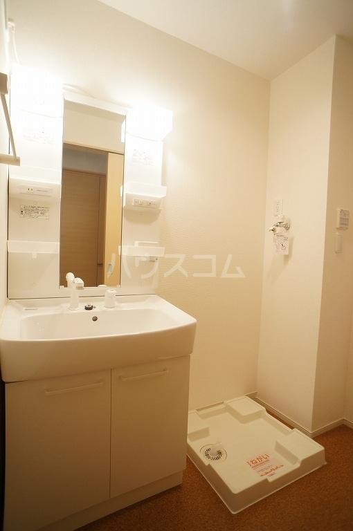 グレース・ヴィラ 壱番館 01020号室の洗面所