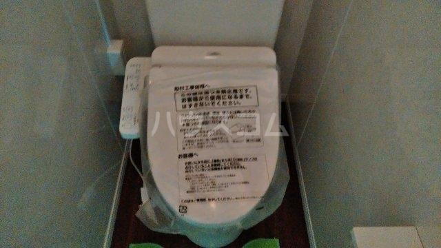 西京極堤外町貸家のトイレ