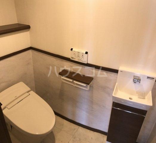 プレミアムコート美里第2 701号室のトイレ
