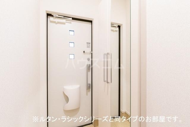 エステート21 02060号室の玄関