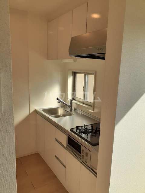 イストワールkita B 02010号室のキッチン