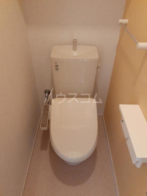 イストワールkita B 02010号室のトイレ