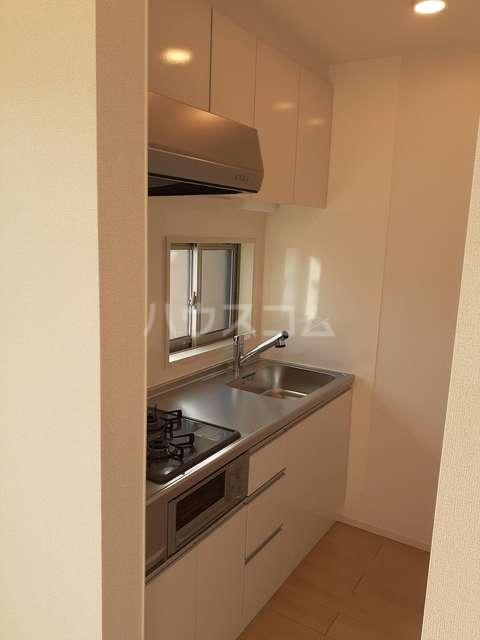 イストワールkita B 02020号室のキッチン