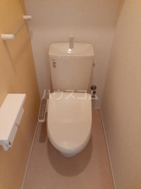 イストワールkita B 02020号室のトイレ