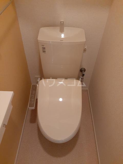 イストワールkita B 02060号室のトイレ