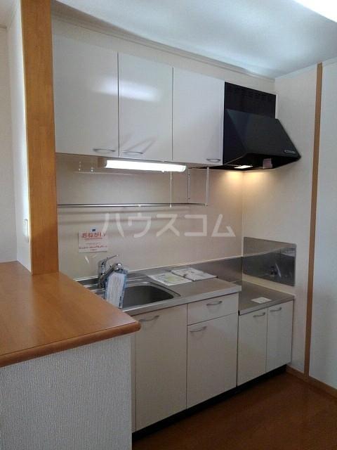 サン マーベラス B 02020号室のキッチン