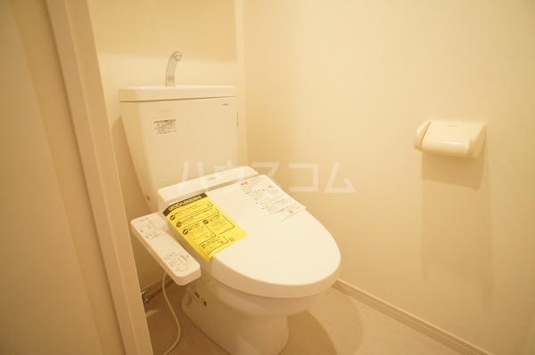 リブリ・朝霞 202号室のトイレ