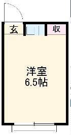 エニシ吉祥寺・2-203号室の間取り