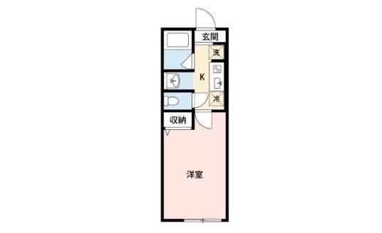 I-Court Kemigawa・209号室の間取り