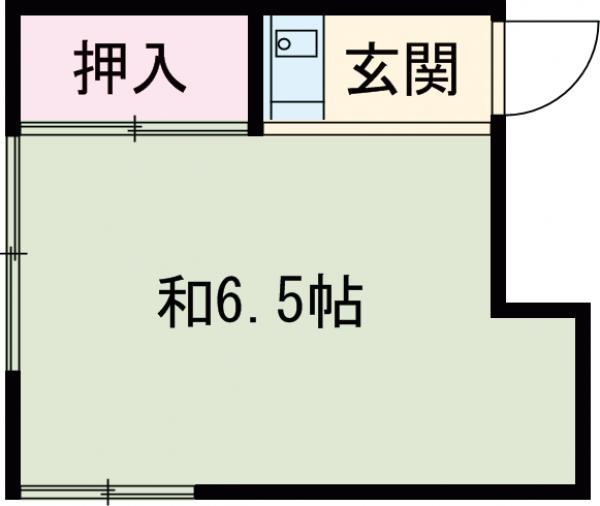 岩田ビル・402号室の間取り