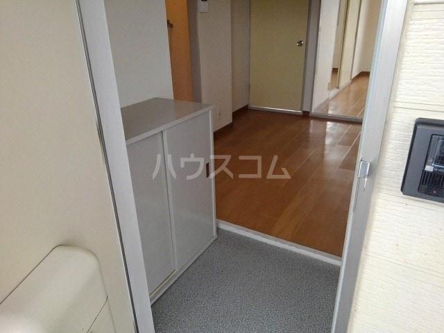 エルディム岩渕D 02010号室の玄関