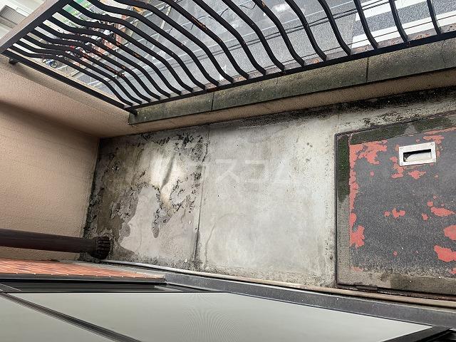 長谷川ビルディング 4-B号室のバルコニー