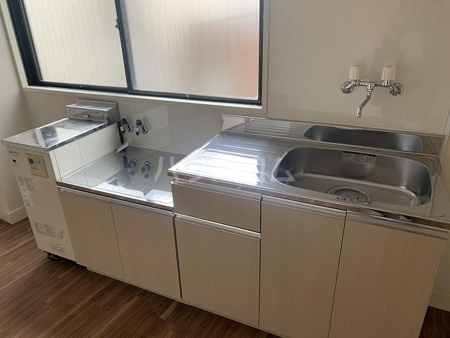 長谷川ビルディング 4-B号室のキッチン