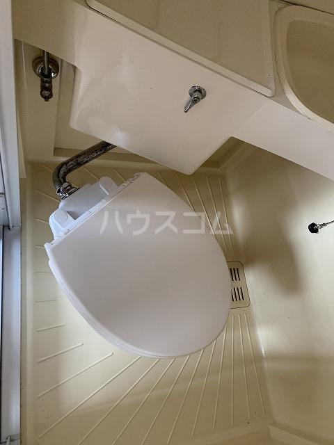 長谷川ビルディング 4-B号室のトイレ