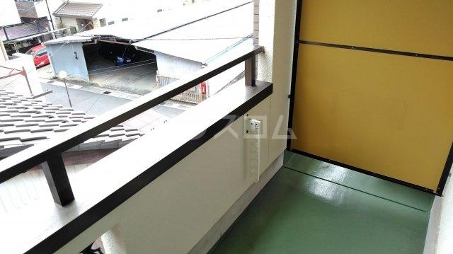 松倉ビル 3-B号室のバルコニー