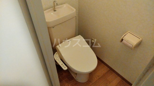 松倉ビル 3-B号室のトイレ