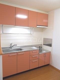 ヤマトハイツC 02020号室のキッチン