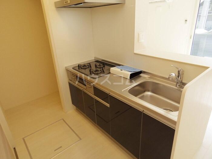 アイミールK 101号室のキッチン