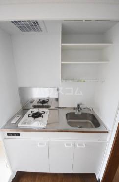 ハイツマックル 101号室のキッチン