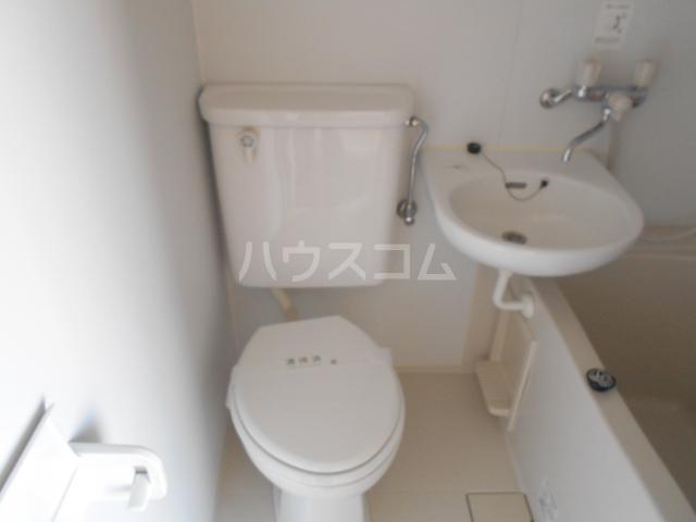 ハイツマックル 101号室のトイレ