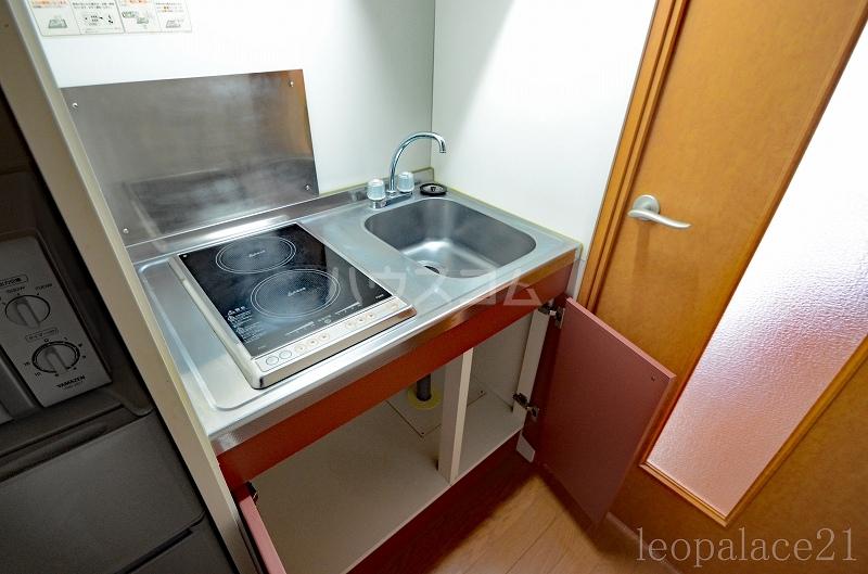 レオパレスマロンハイム 110号室のキッチン