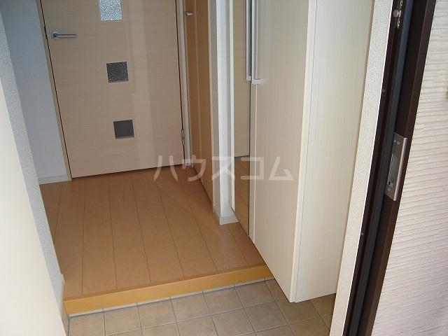 メゾンド ソレイユ ブラン 01010号室の玄関