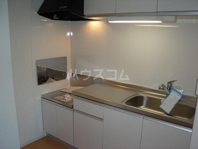 メゾンド ソレイユ ブラン 01010号室のキッチン