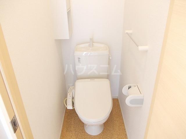 メゾンド ソレイユ ブラン 01010号室のトイレ