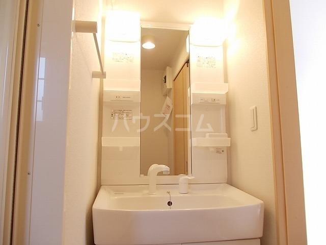 メゾンド ソレイユ ブラン 01010号室の洗面所